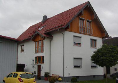Wohnhaus-Aufstockung