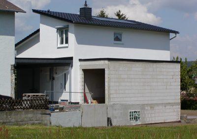Wohnhaus-Anbau